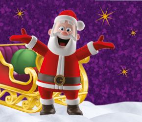 Santa's Grand Arrival