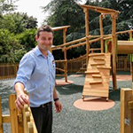 New Children's Play Area at Squire's in Milford