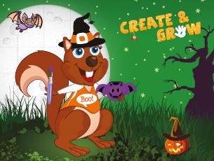 Create and Grow Spooky Half Term